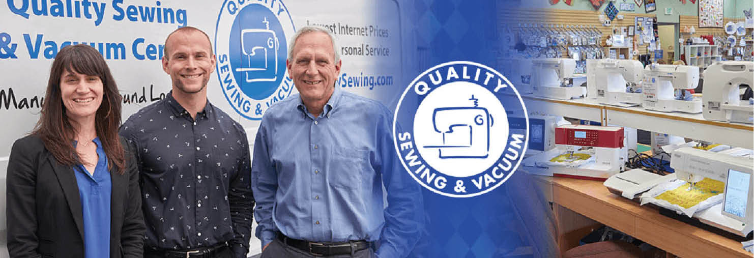 Quality Sewing & Vacuum Centers main banner image - Puget Sound - Western Washington