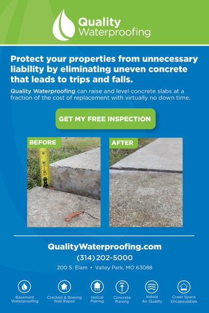 Basement waterproofing in St Louis