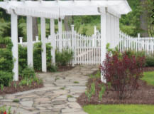 outdoor kitchen, pavers, gazebo