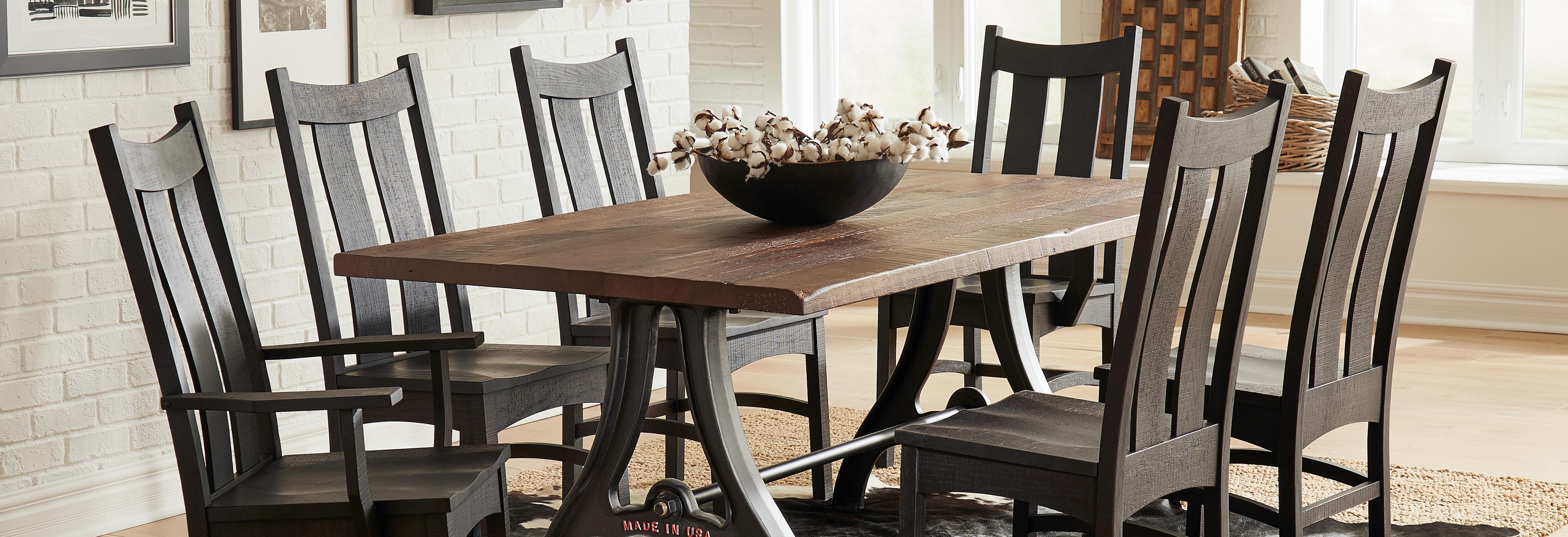 custom amish contractor furniture