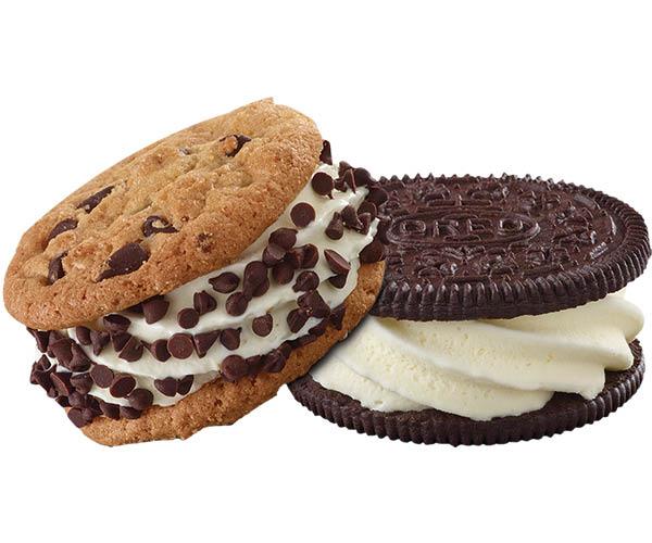 Custard Cookie Sandwich