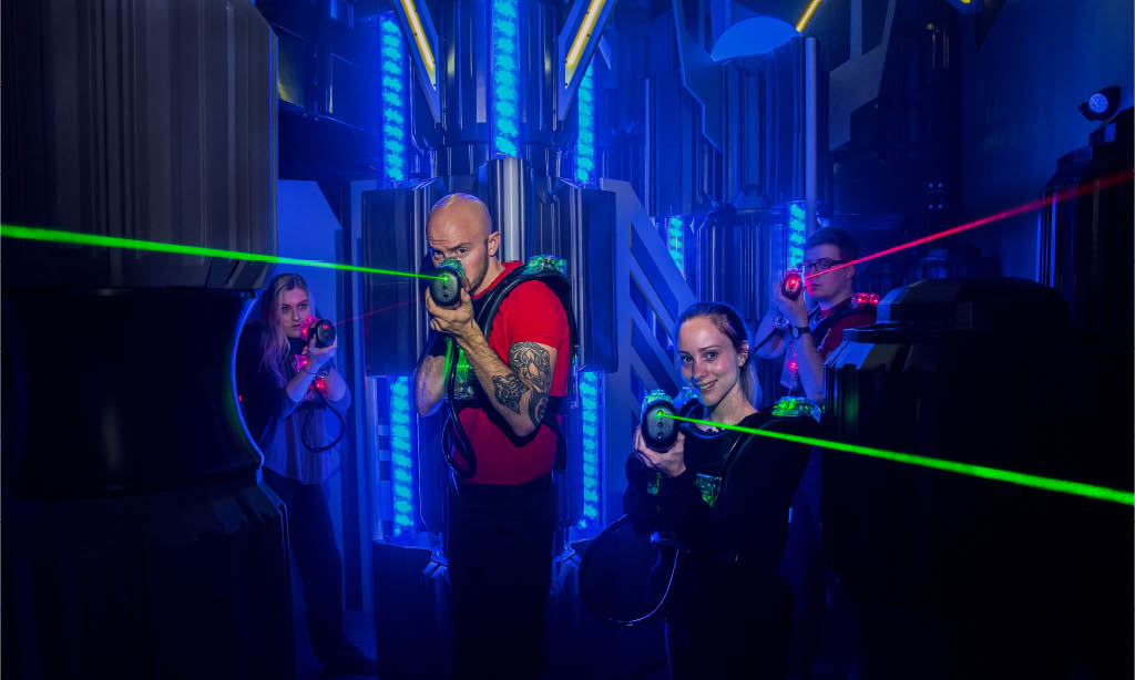 Lasertag Rochester Family Entertainment Kids Birthday Parties