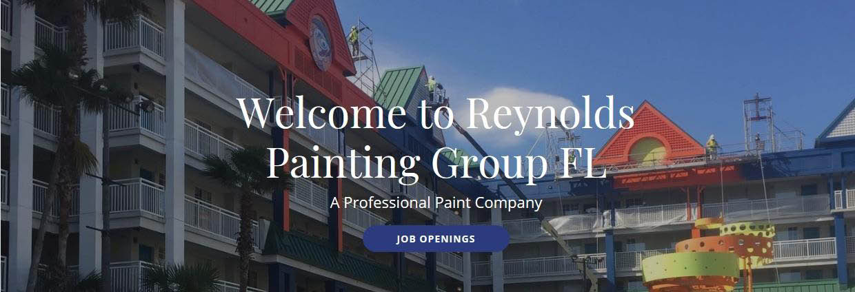 REYNOLDS PAINTING GROUP FL BANNER