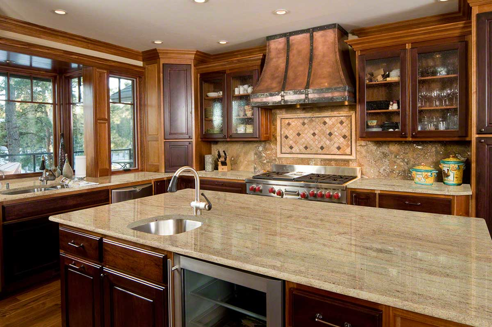 Kenosha and Racine Granite remodeled kitchen