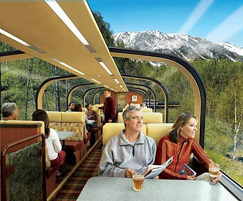 Princess Lodges Rail Tours to Alaska