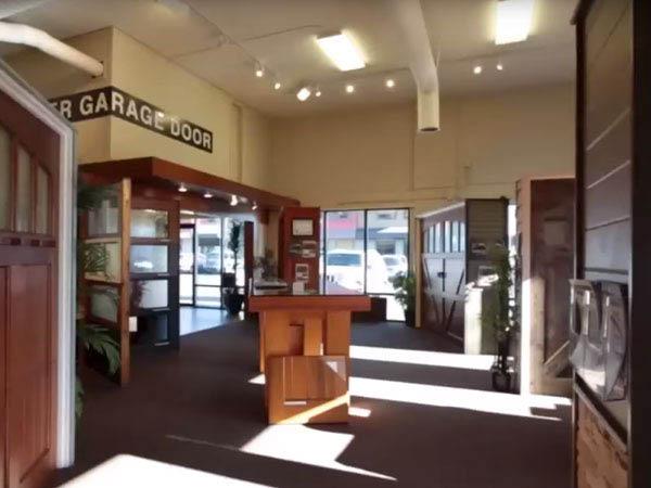 Visit the beautiful Rainier Garage Door showroom in Kirkland, WA - Kirkland garage door companies near me