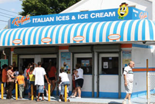 Ralph's Ices storefront in Nassau County