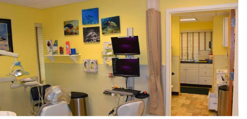 Patient's room at Rand Center For Dentistry in Flanders NJ
