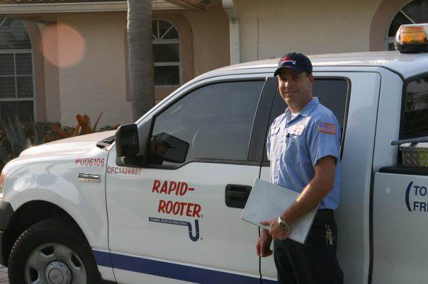 Rapid-Rooter Plumbing & Drain Service Tech