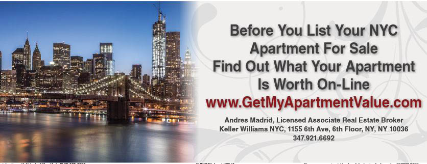 Selling? Find Your NYC Apartment Value