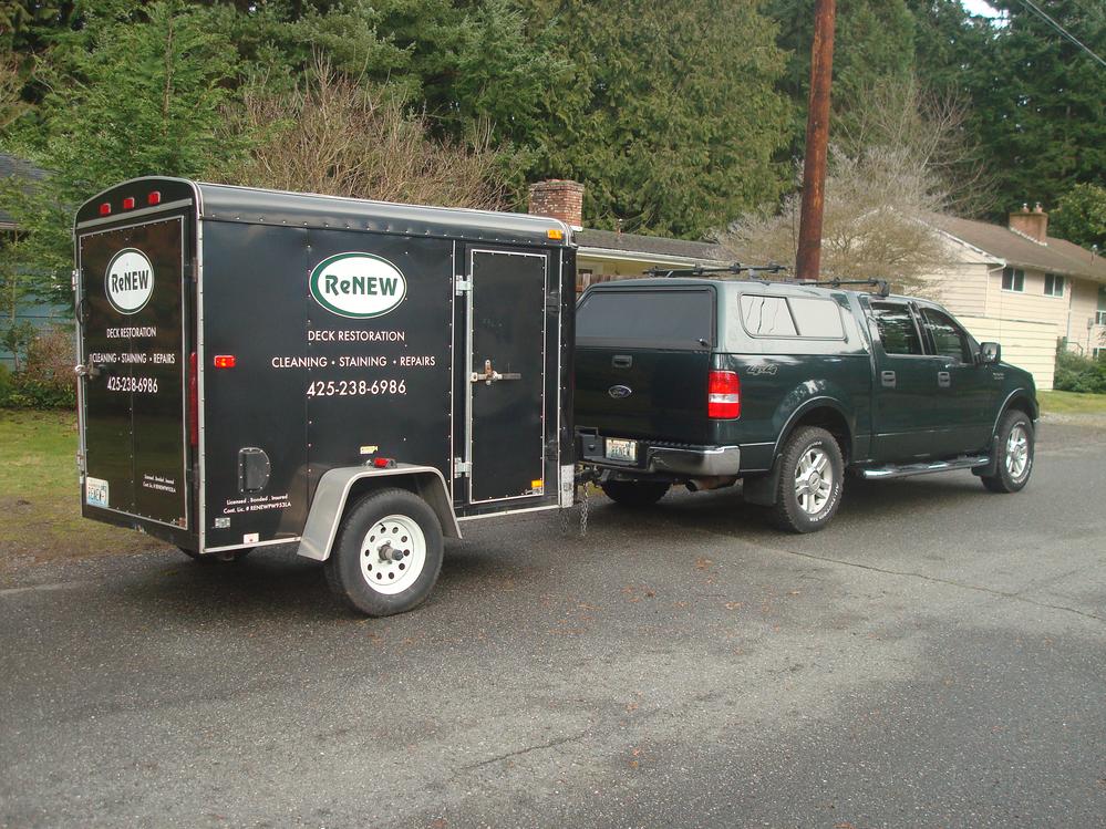 ReNew Deck Restoration & Pressure Washing of Lynnwood, WA celebrating 15 Years In Business!