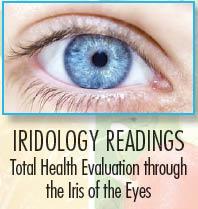 Iridology studies the iris of the eye as it relates to overall health