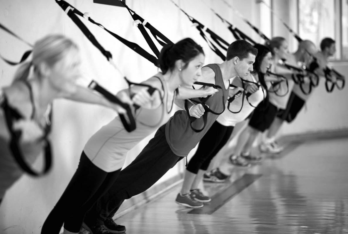 photo of TRX class at ReCYCLE Fitness in Washington Twp and Shelby Twp, MI