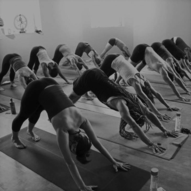 photo of yoga class at ReCYCLE Fitness in Washington Twp and Shelby Twp, MI