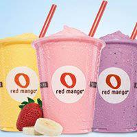 All-natural nonfat frozen yogurt Fresh fruit smoothies Fruit & yogurt parfiats
