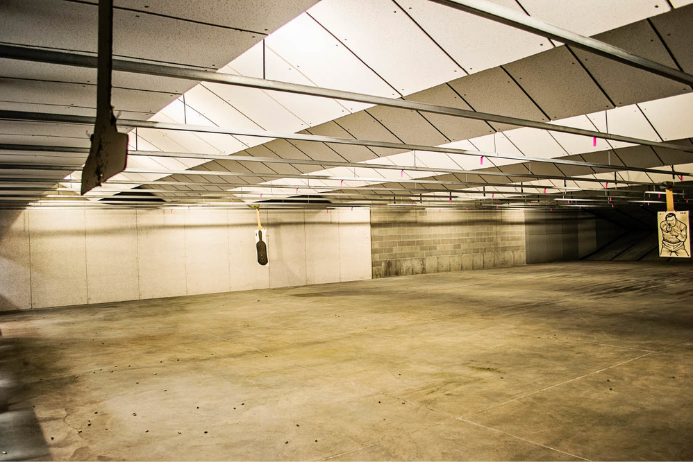 Davis County gun owners can practice at our indoor shooting range