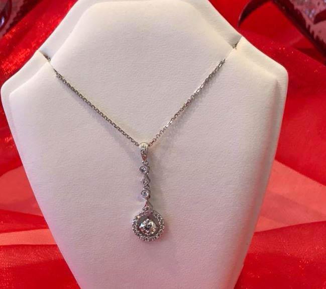 Beautiful diamond necklace from Danielson Jewelers in Redmond, Washington - fine jewelry stores - jewelry repair - jewelry sales