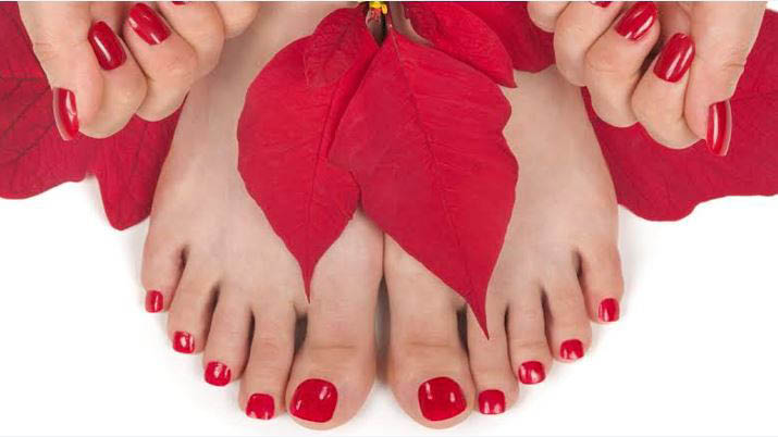 Mani/pedi combo from Honey Nails in Redmond, WA - manicure pedicure combo - Redmond nail salons - Nail salons in Redmond