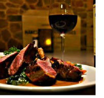 Rack of Lamb at Redwoods Grill & Bar in Chester NJ