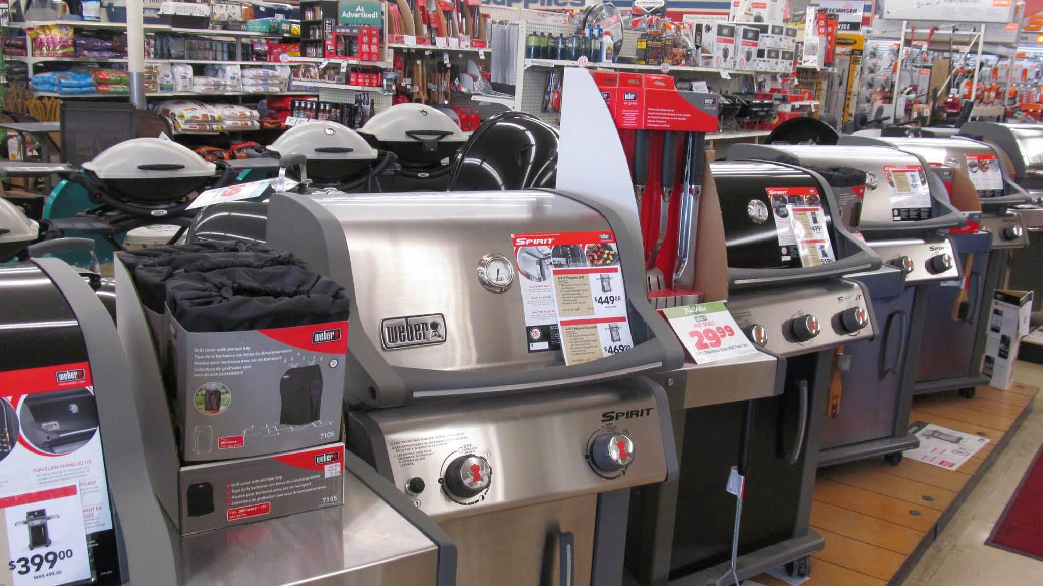 Reinman's True Value neighborhood hardware store near Antioch