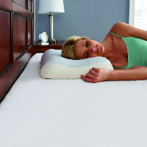 pillow ergonomic sleeping bed back support neck spine