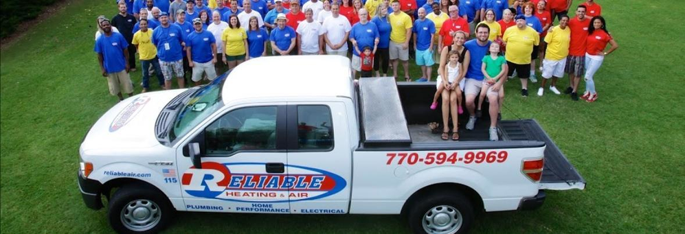 Service Staff at Reliable Heating & Air in Atlanta banner