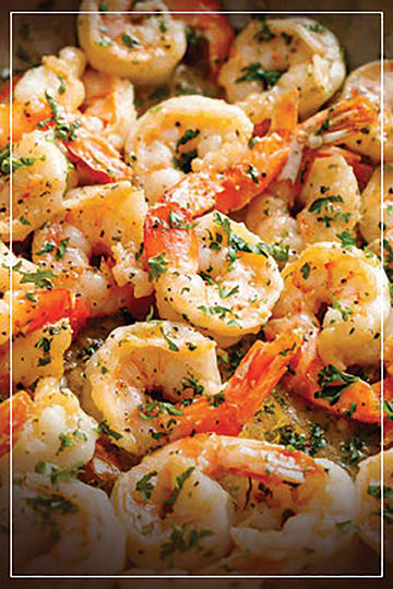 Shrimp Seafood Italian Remington's Restaurant