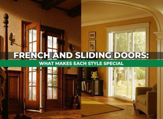 French doors and sliding doors