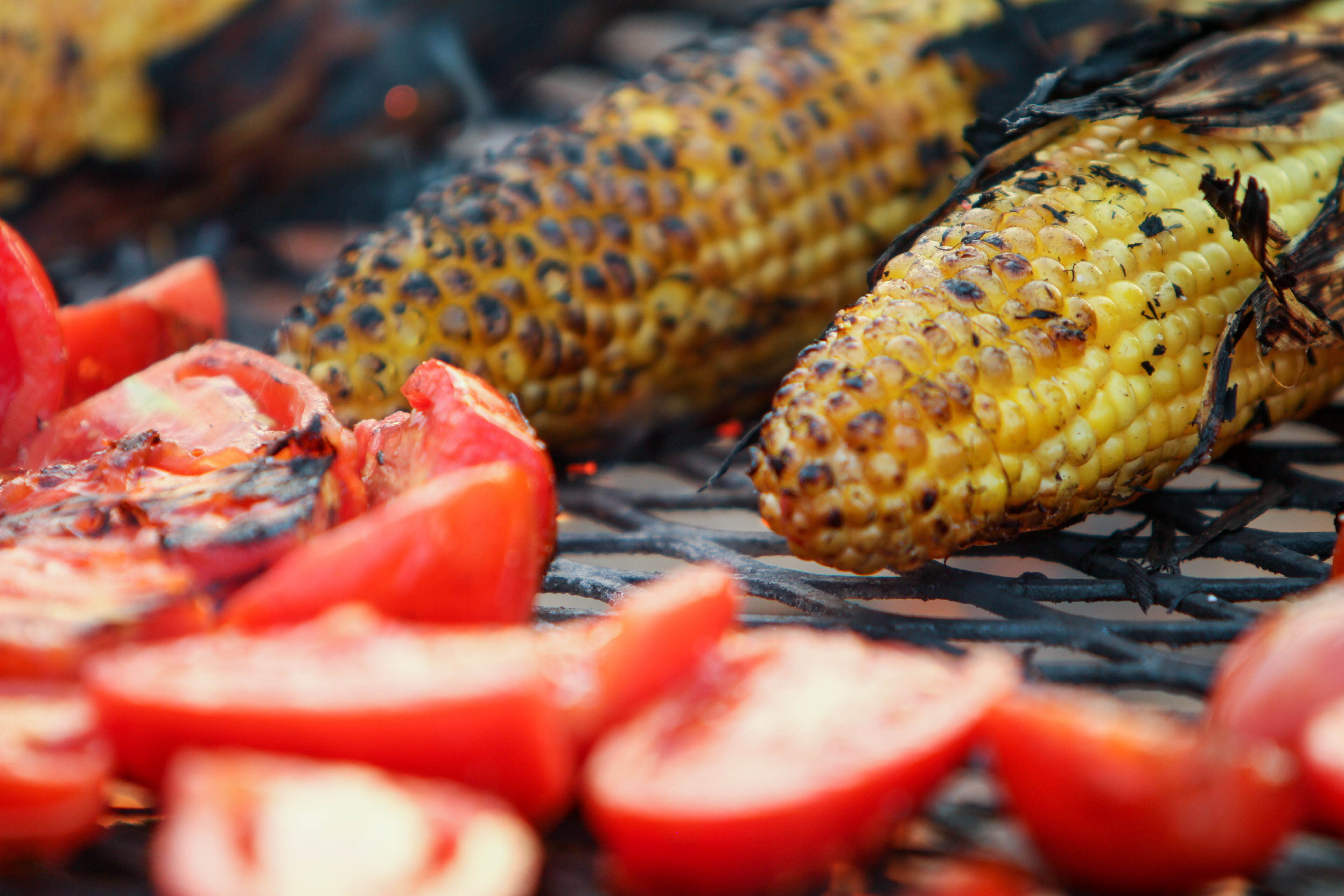 Grilled Corn on the Cob from Cedar River Smokehouse in Renton, Washington - barbecue restaurants in Renton - Renton barbecue restaurants - BBQ in Renton