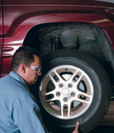 photo of tire change at Repair Once Tire & Auto in Westland, MI