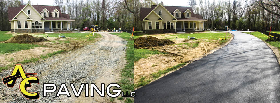 ac paving maryland asphalt brick stone contractors before and after