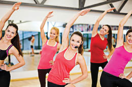 Retro Fitness staff member will lead your group classes