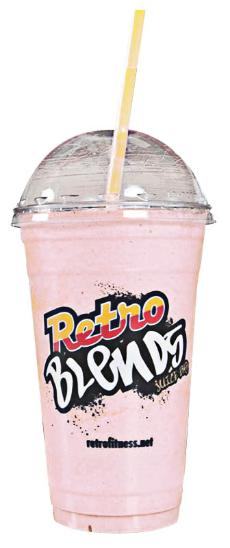 Try one of our delicious and nutritious Retro Blend Smoothies