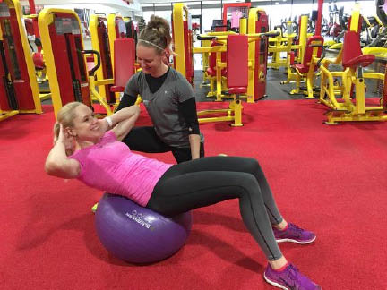 Personal Training available at Retro Fitness in Florham Park NJ