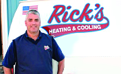 rick's heating cooling air conditioning services morrow ohio rick photo