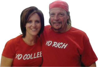 Co-Owners Rich and Colleen of Rich's Pizza Joint.