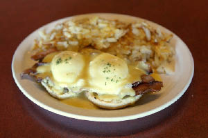 Ricky J's in Puyallup, WA serves breakfast all day