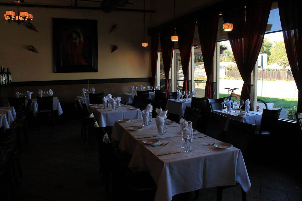 Ristorante Mediterranean is a white table cloth Mediterranean and Italian restaurant