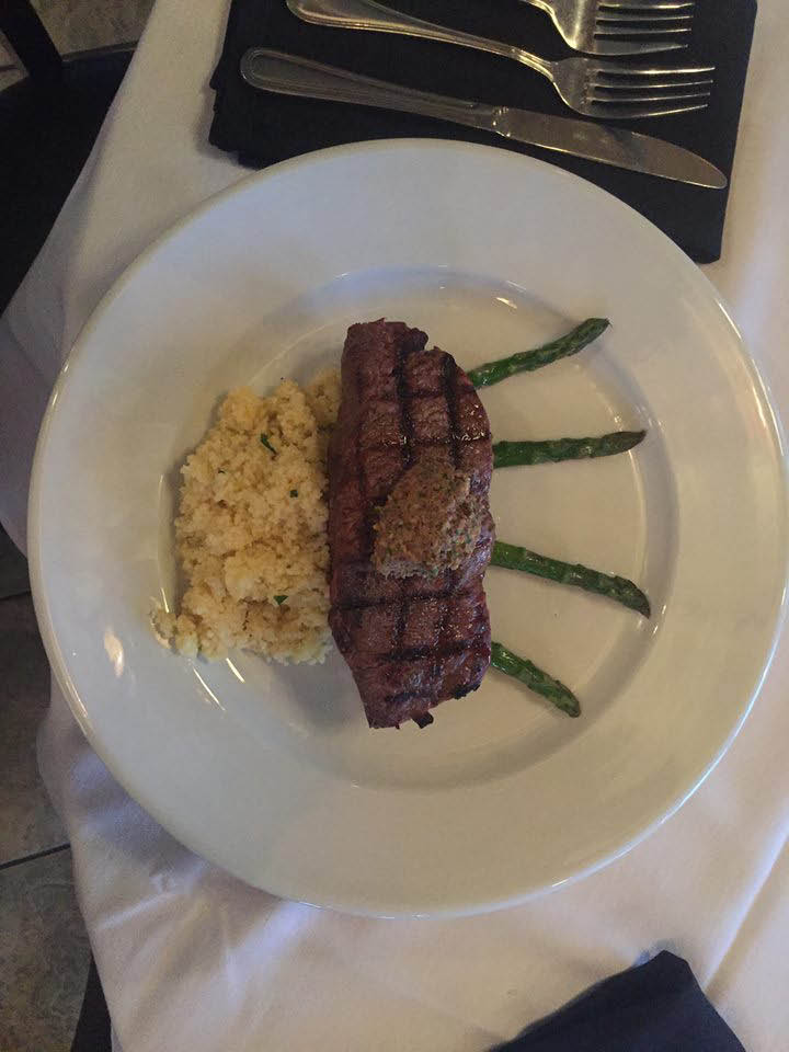 Try Ristorante Mediterranean NY Steak and love every bite