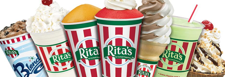 Rita's Italian Ice & Frozen Custard banner Northfield, NJ