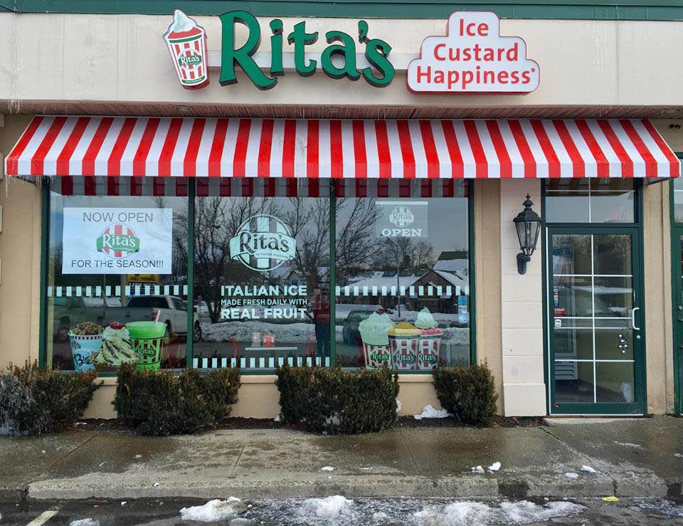 Rita's of Poughkeepsie, NY - shop exterior