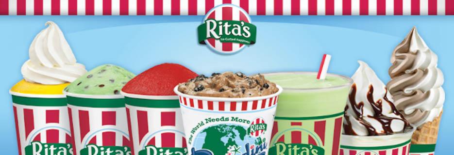 ritas, ice, custard, gelati, frozen yogurt, ice cream, easton, northampton