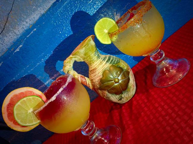 Mercer Island Mexican restaurants - Rivera Maya - Diablo margarita - fresh lime shaken margaritas