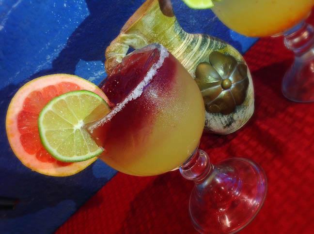 Rivera Maya Mexican Restaurant - Juan's Special fresh lime shaken margarita - Mercer Island, WA