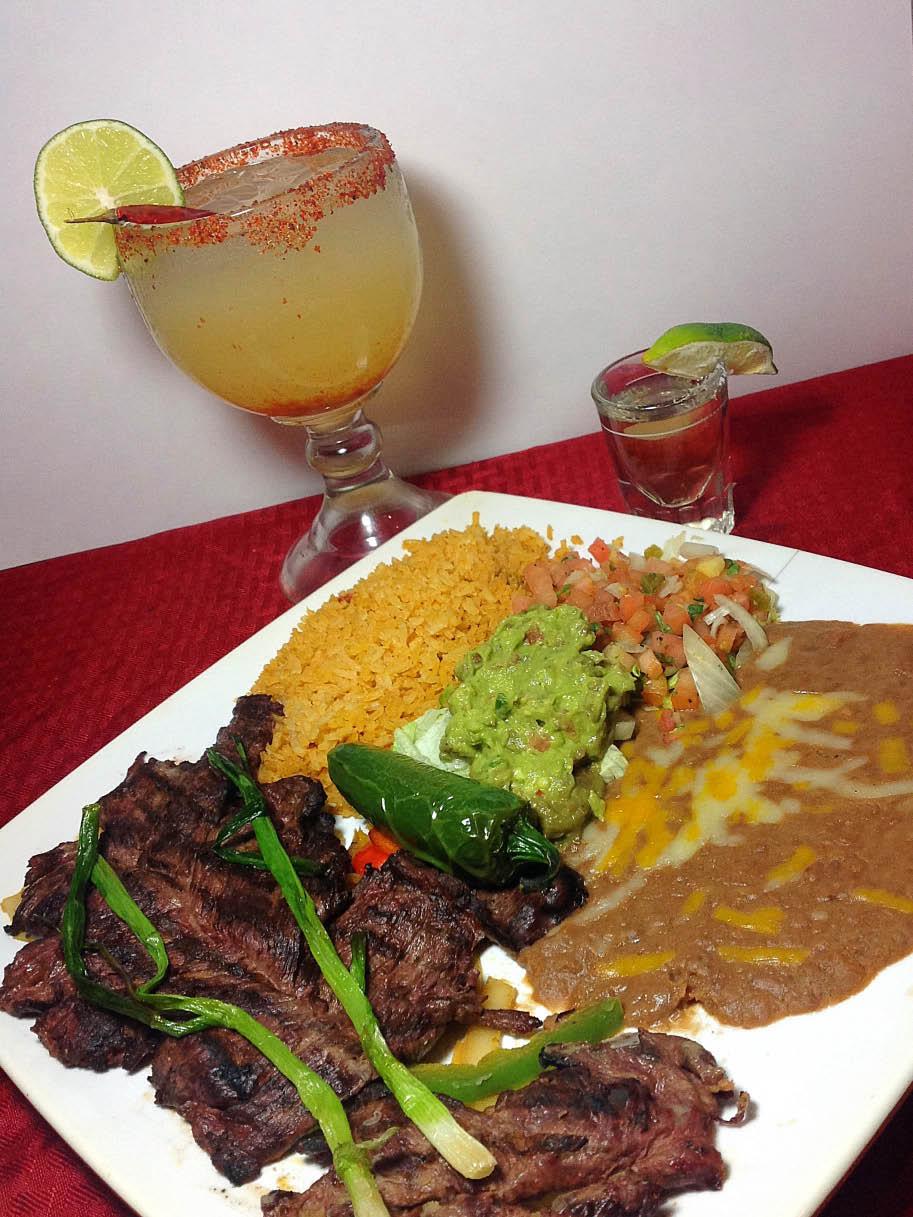 Rivera Maya Mexican Restaurant - Carne Asada - daily lunch specials - Mercer Island Mexican Restaurant - Mercer Island, WA