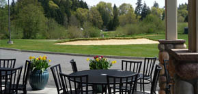 River's Edge restaurant at Valley Golf Course - enjoy beautiful views while you dine - Tumwater restaurants near me - restaurants in Tumwater, WA - dining in Tumwater, WA