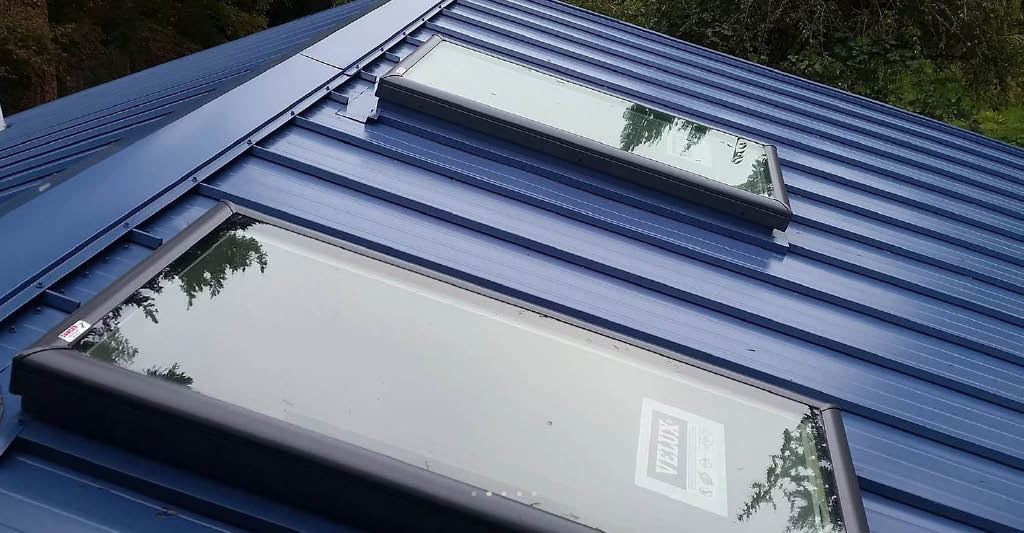 Metal roof installed by Riverside Roofing in Bothell, WA - roofing contractors near me - roofers near me - roofing coupons near me