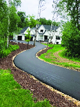 New Driveway Installation by R & G Paving in Stanhope, NJ