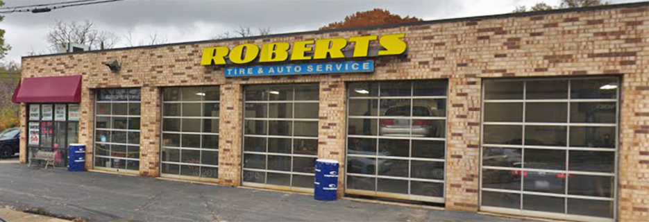 Robert's Tire & Auto Repair banner New Lenox, IL
