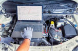 photo of engine diagnostics at Rochester Hills Chrysler Jeep in Rochester Hills, MI